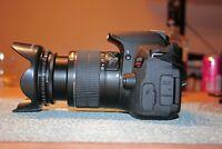 Canon EOS Rebel T4i / 650D 18.0MP DSLR With18-55mm Lens (2 LENSES)