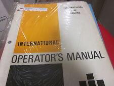 International 3142 Backhoe TD-8 100-C 100C 125-C 125C 500-500C Hoe Parts Manual
