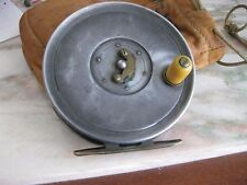 """Dingley 3 1/2"""" Fly Reel Marketed For WM Mills and Son Caged Spool"""