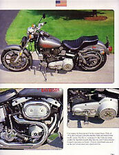 1978 Harley Davidson FXS Article - Must See !!
