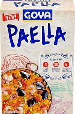 Goya Paella Valenciana Yellow Rice & Seafood Dinner 8 Oz for 4 Servings
