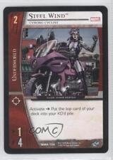 2005 Vs System Marvel Knights #Mmk-156 Steel Wind (Cyborg Cyclist) Card 3v2