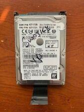 "Hitachi 7K750-500 500GB Laptop Hard Drive 7200RPM 0.95mm 2.5"" SATA W/Caddy Tray"