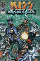 Kiss Comic Issue 1 Psycho Circus Modern Age First Print 1997 Holguin Medina