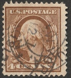 USA-US SCOTT #360 Blue Paper 1909 Whasington  Extremely rare  unlisted