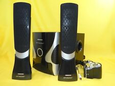 2.1 Gamer Sound System-Design-Lautsprecher/60Watt/Home Cinema HiFi Soundbar