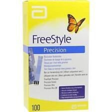 FREESTYLE Precision Blutzucker Teststr.o.Codier. 100St Teststreifen PZN 6905357