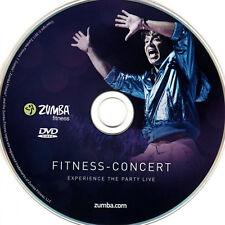 Zumba DVD Fitness Concert Live Fitness Exhilarate + Bonus 100% Originale