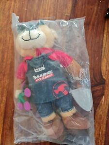 Plush BUNNINGS BEAR - BREE - New & Sealed