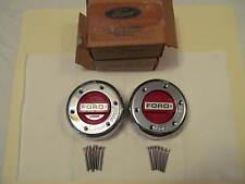 Ford F-250 F-350 Locking Hub Red Dials (2) Ford Dana 50 / 60 1 Ton E5TZ-1K104-A