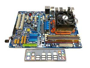 Gigabyte GA-MA770-UD3 Socket AM2+ AM3 DDR2 Motherboard + Athlon 7750 CPU + 2GB