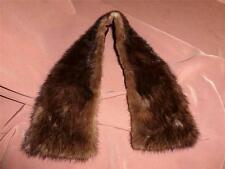 Vintage Sable Mink Collar for Sweater, Jacket or Coat