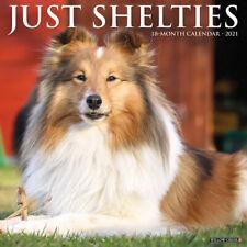 Just Shelties (dog breed calendar) 2021 Wall Calendar (Free Shipping)
