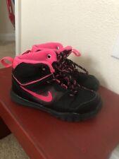 Nike Toddler Girl Boots Size 9 Black Pink
