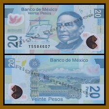 Mexico 20 Pesos, 2012 P-122 Series-V Polymer Unc