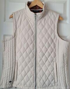 Regatta Charna Polyester Cream Gillet  Size 16 r.r.p £60 Excellent Condition .