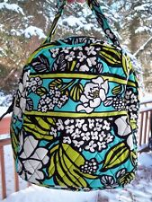 VERA BRADLEY Lunch Bunch Bag School Office Travel Island Blooms FREE SHIPPING