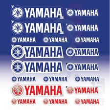 21 YAMAHA - STICKER AUTOCOLLANTS - MOTO - CASQUE- VOITURE AUTOCOLLANT -  STICKES