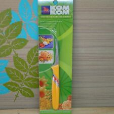 KOM KOM Fruit Carving Knife Thai Kitchen Soap Vegetable Art Food Stainless Steel
