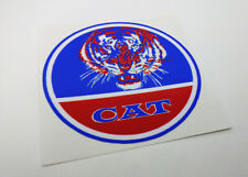 HPE CAT All American Mini Bike Clutch Cover DECAL | Vinyl Minibike STICKER