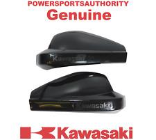 2010-2018 Kawasaki Versys 650 1000 OEM Black Hand Guard Shells (2) 217HGS-0008B