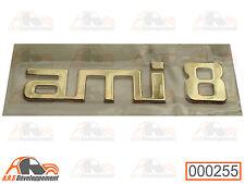 MONOGRAMME NEUF pour coffre / malle de Citroen AMI8  -255-