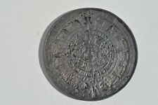 NICE MEXICO CALENDARIO AZTECA Y PIEDRA DEL SOL AZTEC SUN CALENDAR MEDAL