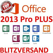 Microsoft Office Professional Plus 2013 für 1 PC ✔ MS® Office ✔ PRO VOLLVERSION
