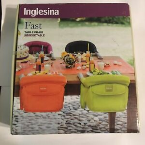 Pottery Barn Baby Infant Inglesina Fast Hook On Table Chair Black Booster Seat