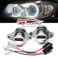 2x 20W Angel Eyes LED Headlight Marker Halo Ring Light Bulbs Fit For BMW E90 E91
