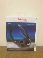 Hama HS-P300 PC Office Headset Stereo Black Communication Mic