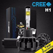 60W H1 CREE Car LED Headlight Lamp Conversion Kit Turbo Led Cool White 6000K