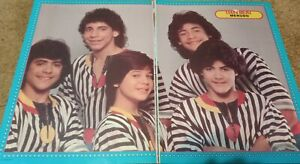 MENUDO CENTERFOLD CLIPPING POSTER FROM MAGAZINE 80'S YOUNG RAY REYES