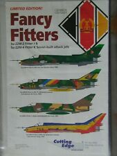 1/48 Cutting Edge FANCY FITTERS: SUKHOI Su-22M *Nose Art *4 planes! Decal OOP