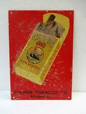 "Vintage Virginia Cigarettes Sign Board Advertising Crown Brand Collectibles ""F12"