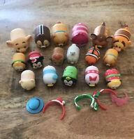 Disney Tsum Tsum Vinyl Figures Lot of 20+ pieces: Christmas + Accessories Lot #2