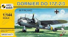 Mark I Models 1/144 Kit Modélisme 14471 Dornier Do-17z-2/3 'en Finlande'