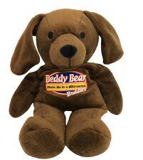 Intelex Warmies Beddy Bear Buddies Warm in Microwave Puppy Dog Brown Plush