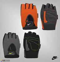 Mens Nike Padded Fundamental Fingerless Training Gloves Sizes from S to XXL