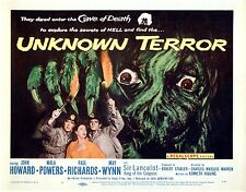 Unknown Terror 1957 Lobby Card Set