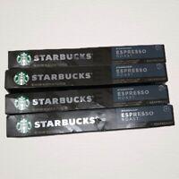 Starbucks Espresso Roast - Nespresso 40 pods (4 sleeves) Original System 9/20