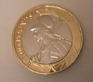 2016 Britannia £2 Pound Coin ,excellent Clean Condition