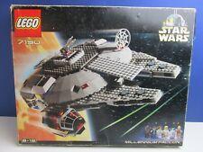 BOXED lego 7190 complete STAR WARS MILLENNIUM FALCON VINTAGE set HAN SOLO LUKE