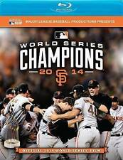 Official 2014 WORLD SERIES Film (Blu-Ray) SF Giants *new*