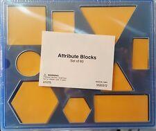 Attribute Blocks Set of 60 *Brand New*