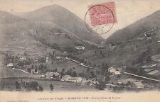 BUSSANG-TAYE grand hôtel et tunnel timbrée 1905