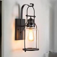 Indoor Wall Lights Bar Black Wall Sconce Light Porch Lighting Vintage Wall Lamp