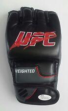 Amanda Nunes Autographed Signed MMA UFC Champion Open Palm Weighted Glove JSA