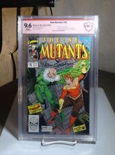 New Mutants (1st Series) #86 CBCS (like CGC) NM+ 9.6 SIGNED SIMONSON Marvel 1990