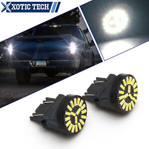 6000K White 4014 SMD LED Backup Reverse Light For Ford F150 F250 F350 Super Duty